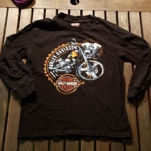 Harley Davidson kids long sleeved shirt size small